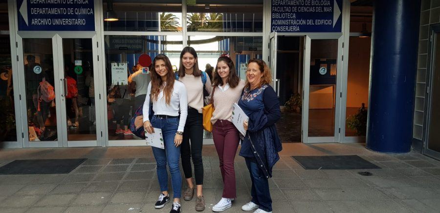 Alumnos de bachillerato de pureza santa cruz acuden a las olimpiadas de ciencias